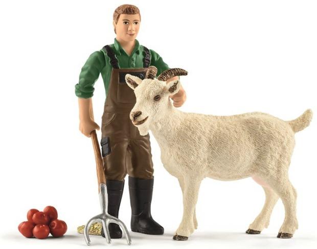 schleich-farmer-with-goat-42375